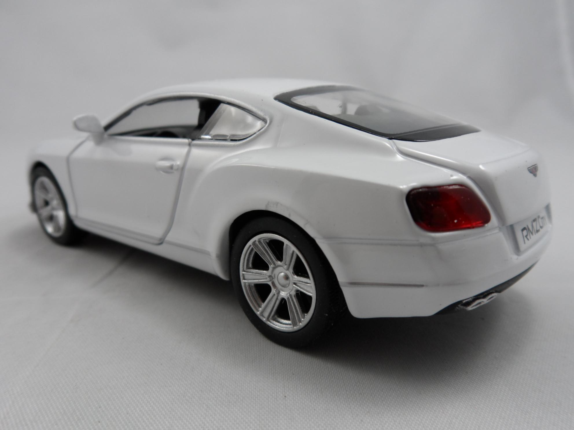 Bentley Continental GT V8 2012 Branco RMZ Citty 1:40
