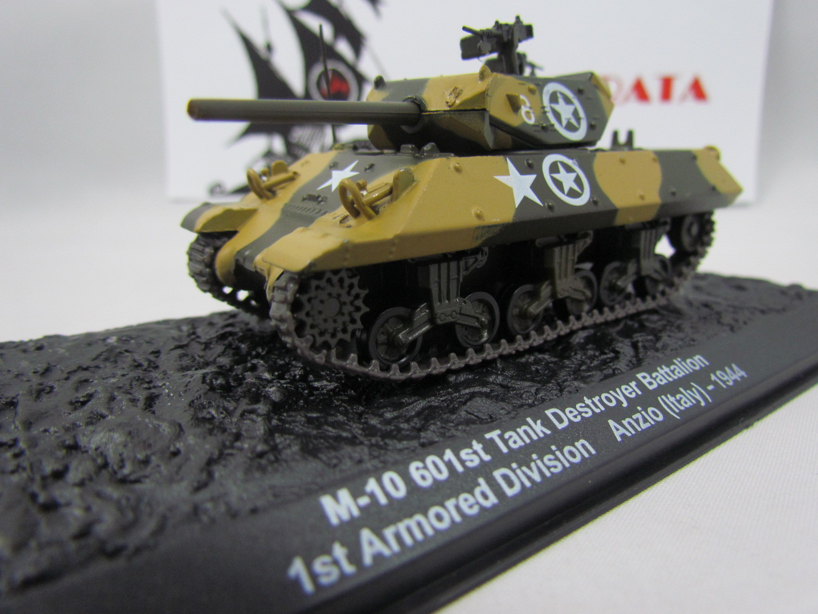 Blindado M-10 Tank Destroyer 601st Battalion 1st Armored Division Anzio (Italy) - 1944 IXO ALTAYA - 1:72 #07
