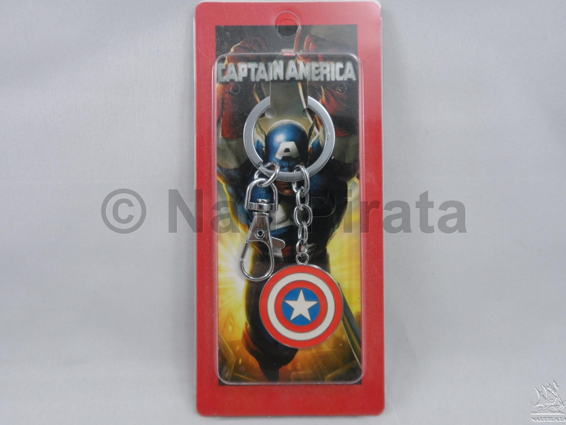 Capitão América Chaveiro Marvel Heroes