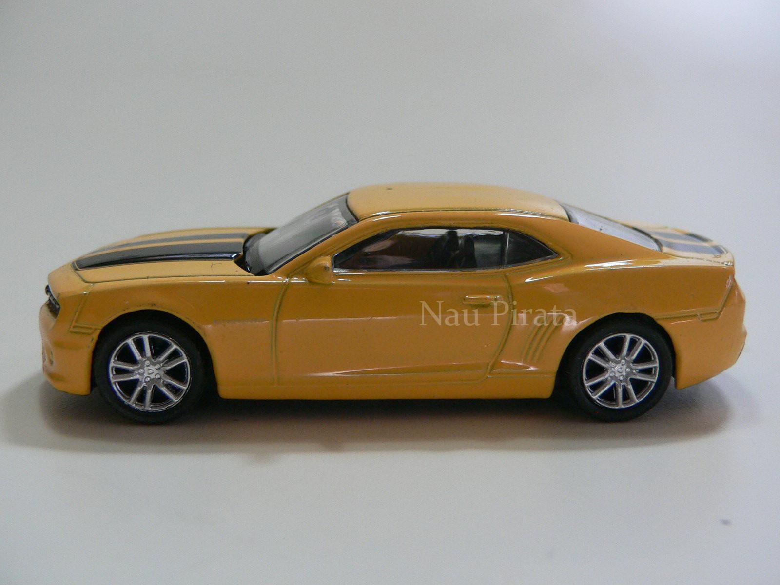 Chevrolet Camaro RS 2012 Amarelo - RMZ City- 1:64