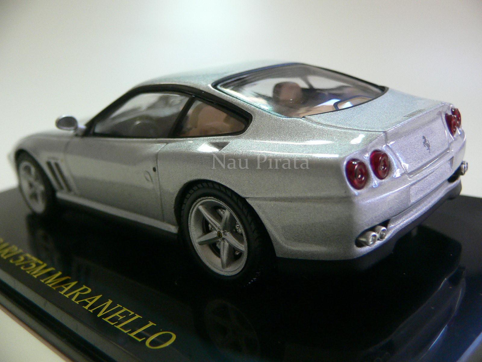 Ferrari 575M Maranello 2006 Prata IXO 1:43