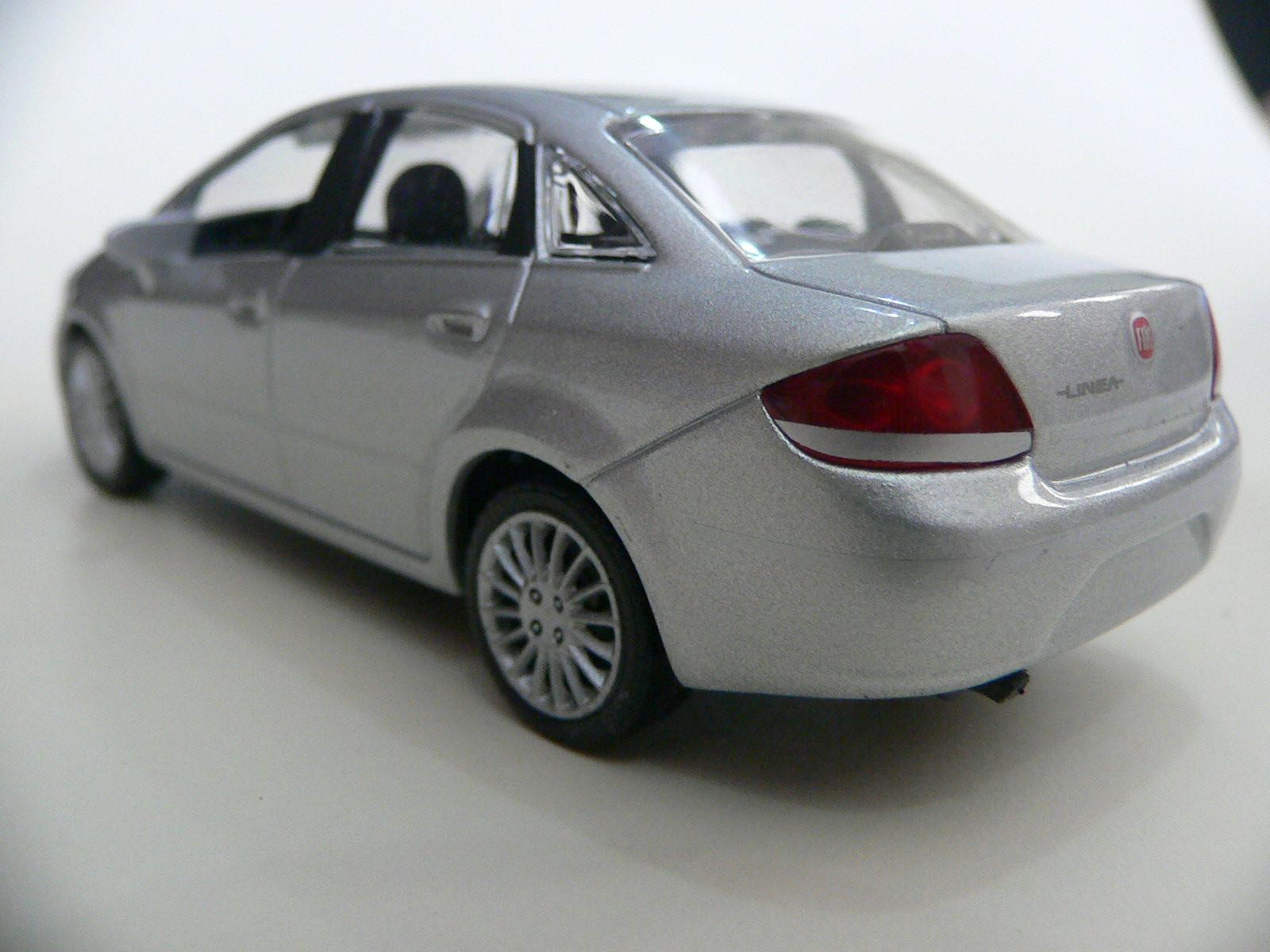 Fiat Linea Prata NoRev IXO 1:43