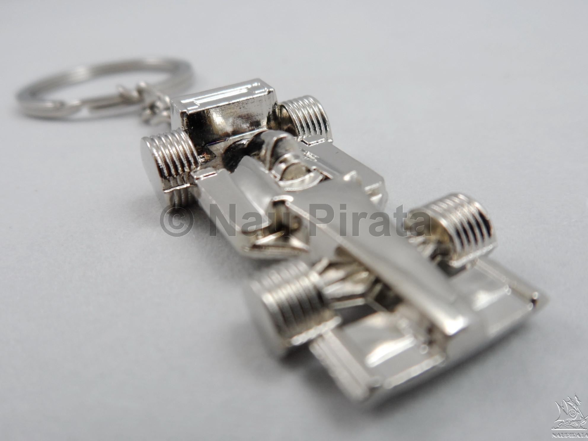 Fórmula 1 (F-1) Miniatura Chaveiro Metal