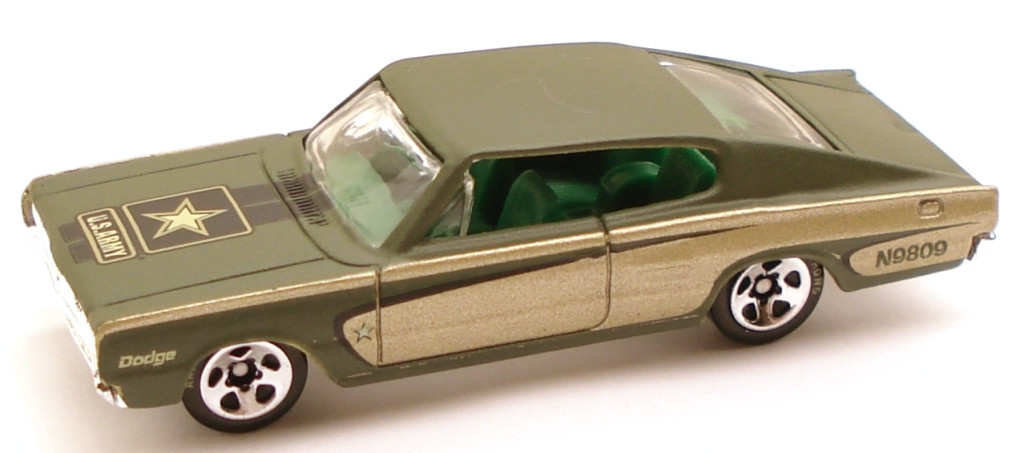 Hot Wheels Military Rods Case D #10 '67 Charger - 1:64