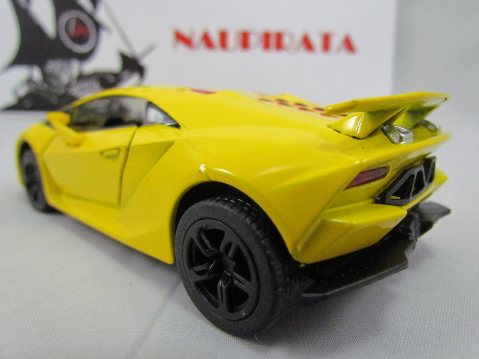 Lamborghini Sesto Elemento Amarela Kinsmart  1:38