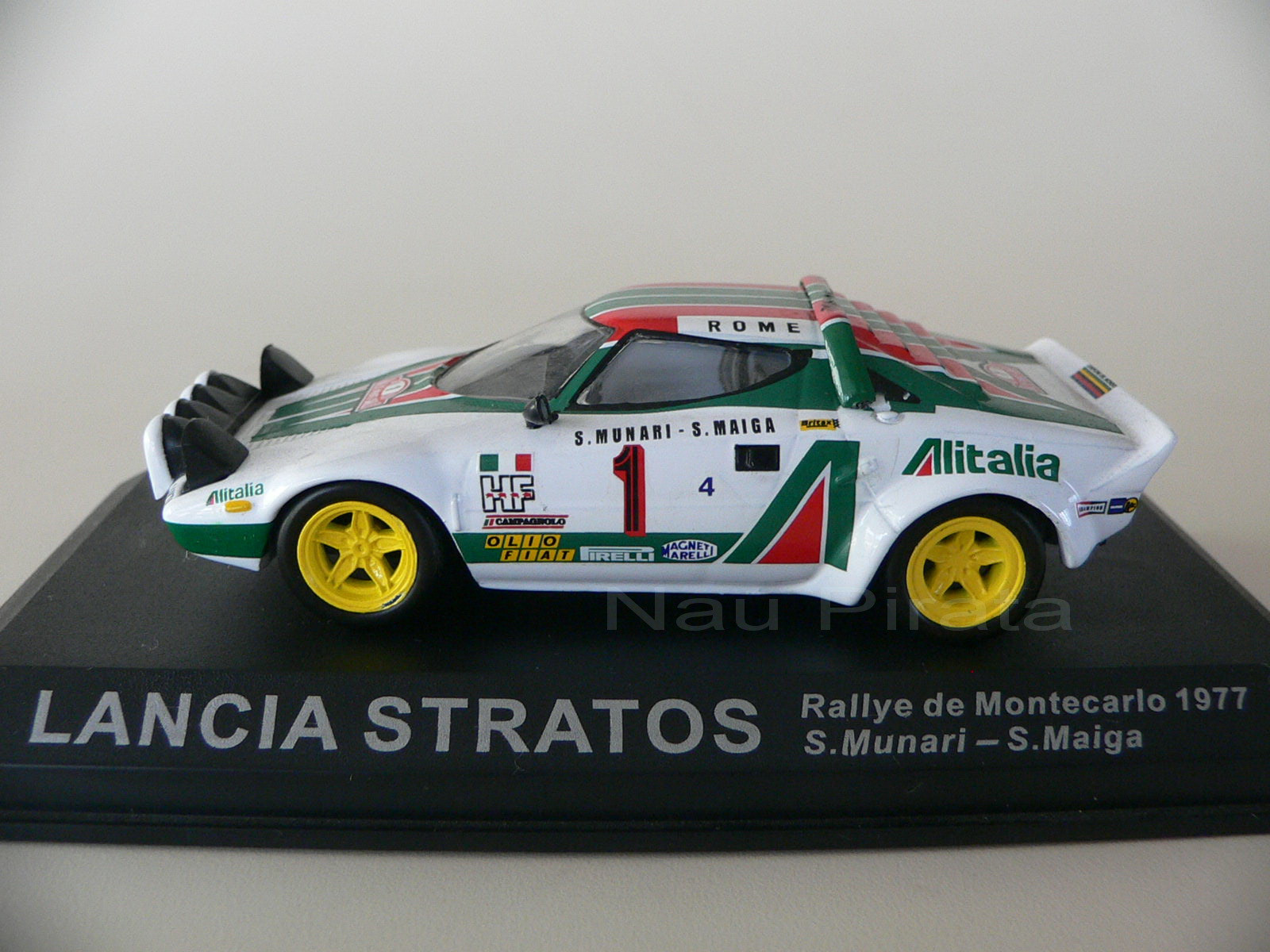 Lancia Stratos 77 Rally Montecarlo 1:43  Altaya No Estado