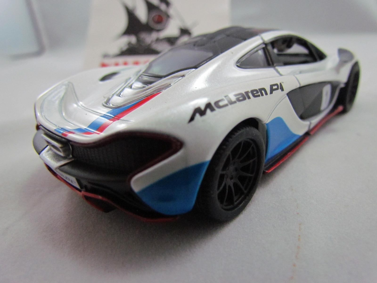 McLaren P1 Exclusive Edition Branca Kinsmart 1:36