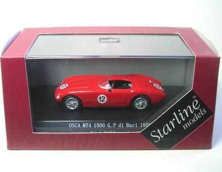 Osca MT4 1500 # 12 G.P. di Bari 1956 (Gigi Villoresi) 1:43 Starline Models