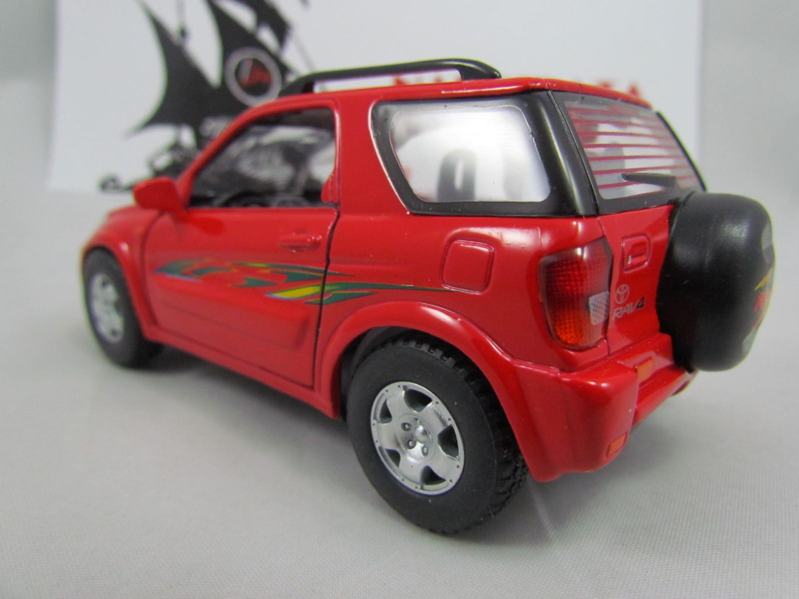 Toyota Rav4 2004 Vermelho Kinsmart 1:32