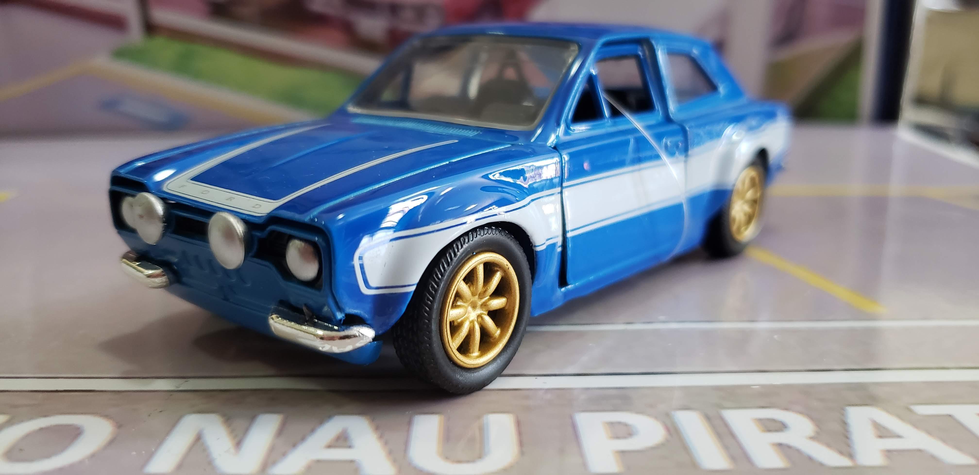 Velozes & Furiosos (Fast & Furious) Brian's Ford Escort 1974 1:32 Jada