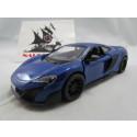McLaren 675 LT Azul Kinsmart 1:36