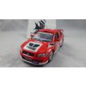 Mitsubishi Lancer Evolution Vermelho Série Street Fighter Kinsmart 1:32