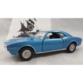 1967 Pontiac Firebird Azul Metálico 1:32 Welly