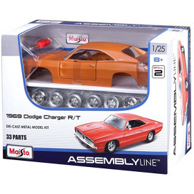 1969 Dodge Charger R/T Assembly Line Maisto 1:24