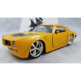1972 Pontiac Firebird Amarelo com Águia 1:32 Jada
