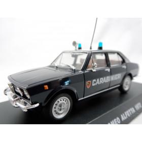 Alfa Romeo 2300 Ti Alfetta 72 Polícia Carabinieri 1:43