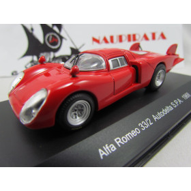 Alfa Romeo - 33/2 Autodelta S.P.A. Nº 0 Press 1968 - Top Model Collection - 1:43