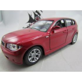 BMW Serie 1 Vermelho 1:34 Kinsmart