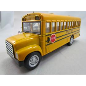 Bus School Ônibus Escolar Kinsmart 1:48