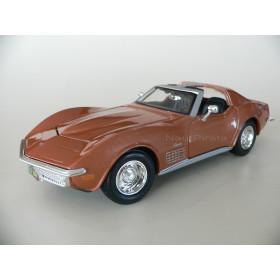 Corvette 1970 Marrom Maisto 1:24