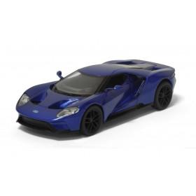 Ford GT 2017 Azul Metálico Kinsmart 1:32