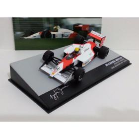 Fórmula 1 McLaren MP4/4 Ayrton Senna Lendas Brasileiras IXO 1:43