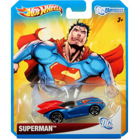 Hot Wheels DC Universe Case C Superman (Super Homem)  - 1:64