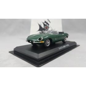 Jaguar E-type 1:43 Verde Conversível 1961 IXO