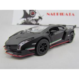 Lamborghini (Matte)  Veneno Preto Fosco Kinsmart 1:36