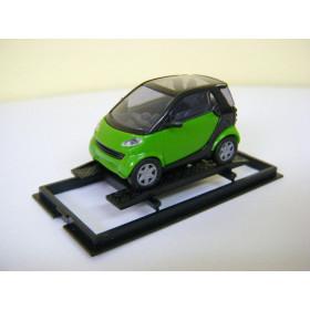 Mercedes-Benz Smart City Coupe Verde Busch 1:87