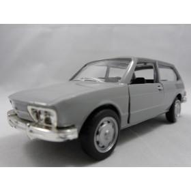 Miniatura Clássico Nacional VW Brasília 1975 Cinza 1:36