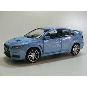 Mitsubishi Lancer Evolution X Azul RMZ City 1:32