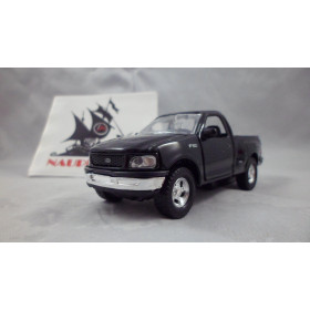 Pickup 1997 Ford F-150 Preta Welly 1:32