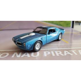 Pontiac Firebird Trans AM 1972 Azul Welly 1:43