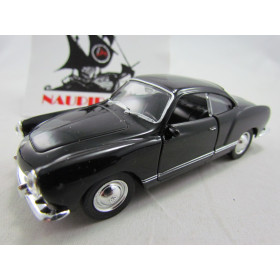 VW Karmann Ghia Coupe 1955 Preto Welly