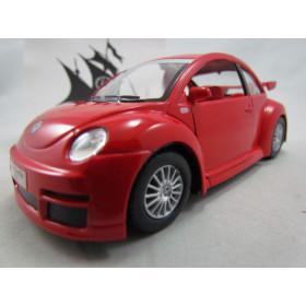 VW New Beetle (Fusca) RSI Vermelho Kinsmart 1:32