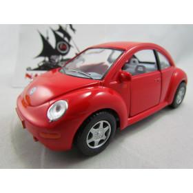 VW New Beetle Vermelho Kinsmart 1:32