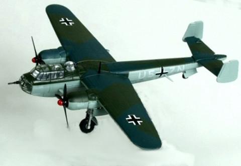 Bombardeiro 2ª Guerra Mundial Dornier Do 217E-4 Luftwaffe 1/144 Altaya/IXO #30