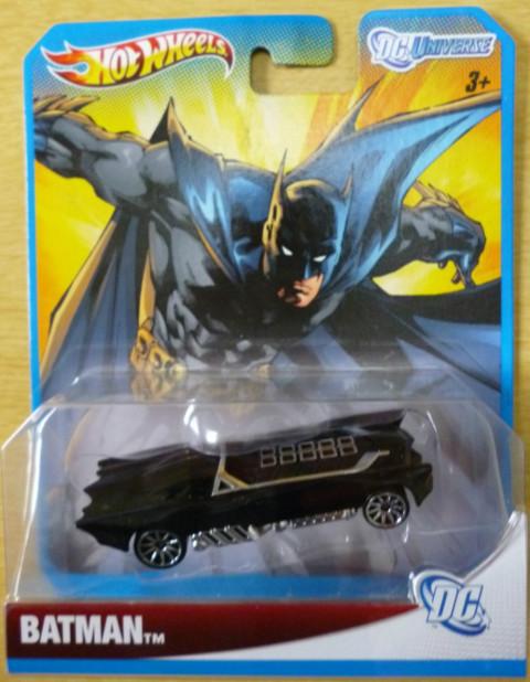 Hot Wheels DC Universe Case F Batman - 1:64