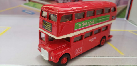 London Bus Double Deck AEC Routemaster Welly 1:64