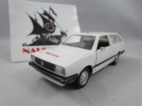 Volkswagen Parati LS 1983 Ambulância Branca 1:43