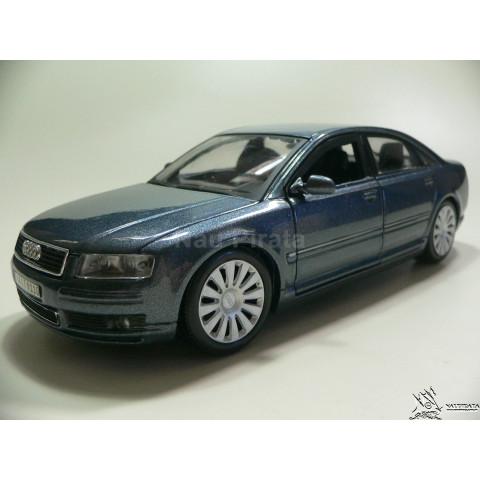 Audi A8 Azul Chumbo Maisto 1:26