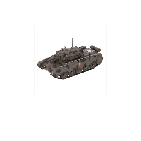 Blindado Tanque Série Veículos Militares 2° Guerra Mundial Cruiser Tank Mk. VI Crusader III (A15) 1:43 Altaya