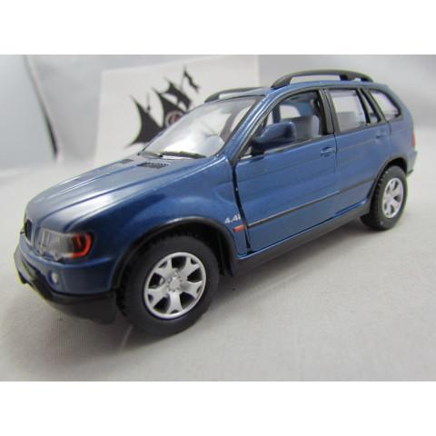 BMW X5 Azul Kinsmart 1:36