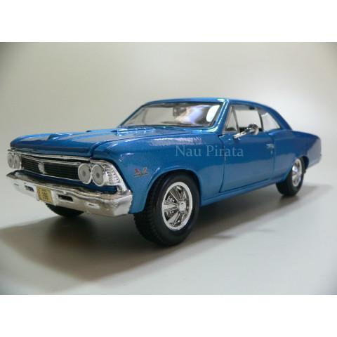 Chevrolet Chevelle SS 396 1966 Azul Maisto 1:24
