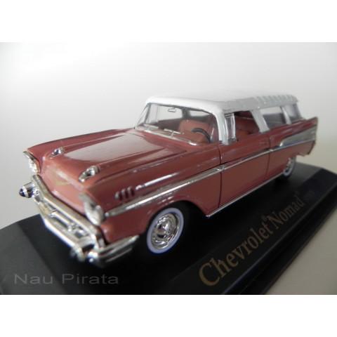Chevrolet Nomad Marrom 1957 - Yatming 1:43