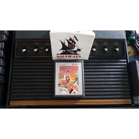 Crystal Castles 1980 Cartuchos Prateados Atari 2600