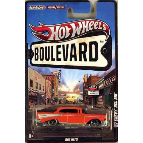 Hot Wheels Boulevard Case Y - 1957 Chevy Bel Air  - 1:64