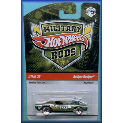 Hot Wheels Military Rods Case D #11 Rodger Dodger - 1:64