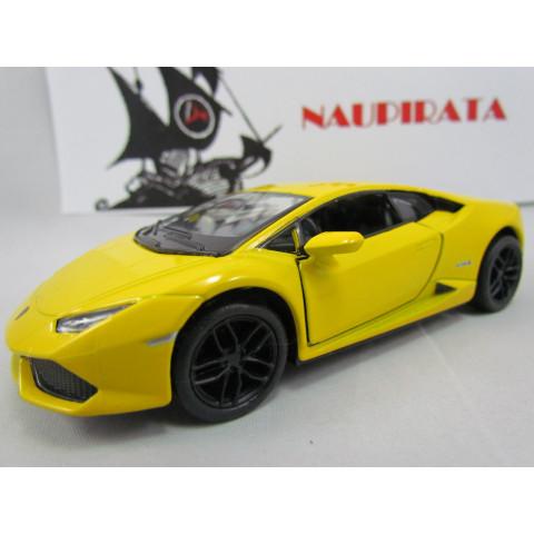 Lamborghini Huracán LP610-4 Amarelo Kinsmart 1:36